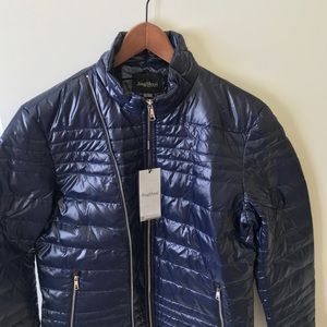 Other - NWT Men' Puff Down Jacket Navy Blue